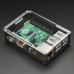 Adafruit Raspberry Pi B+ Case - Smoke Base w/ Clear Top