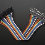 "Premium Female/Male 'Extension' Jumper Wires - 20 x 6"""