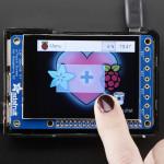 "PiTFT Plus 320x240 2.8"" TFT + Capacitive Touchscreen Mini Kit - Pi 2 and Model A+ / B+"