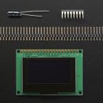"Monochrome 1.54"" 128x64 OLED Graphic Display Module Kit"