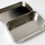 Altoids mints sized tin -