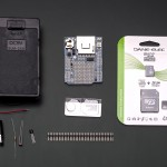 Light and temperature data-logger pack -