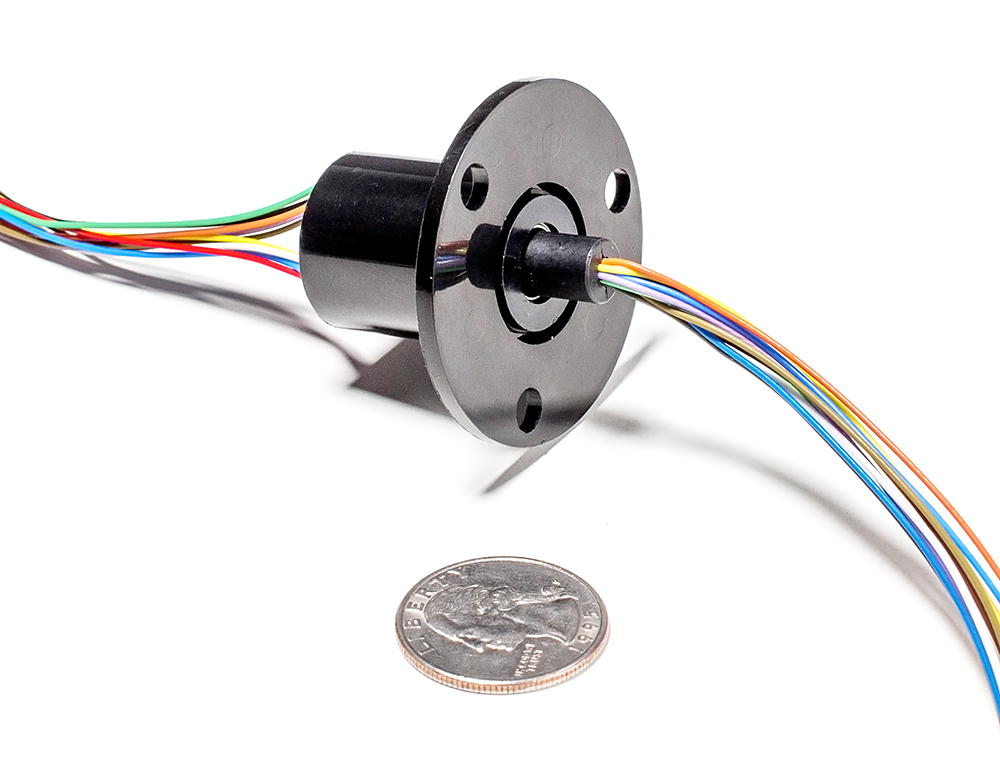 slip ring with flange 22mm diameter 12 wires max 240v 2a rh raspberry com ua Electrical Wiring wiring diagram slip ring motor