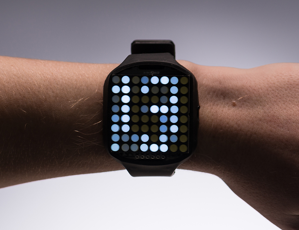 Timesquare diy watch kit — white display matrix