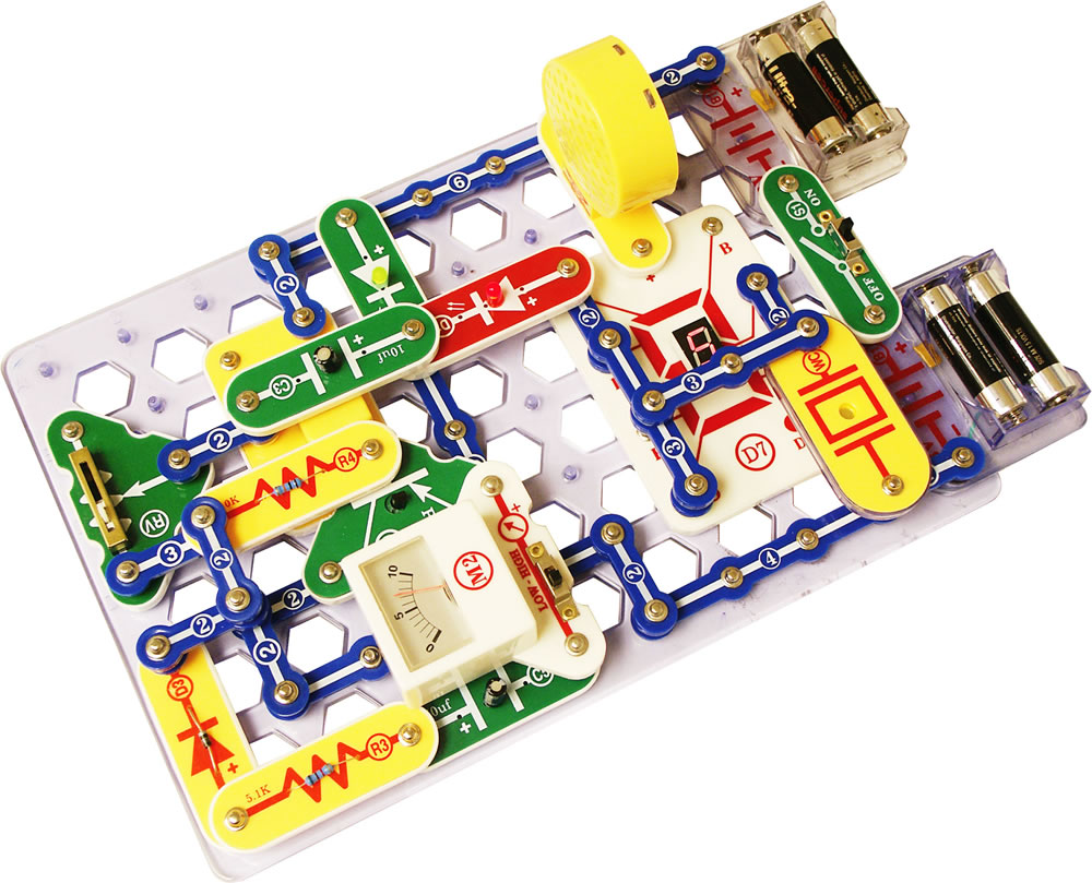 Snap Circuits Pro 500 Experiments Elenco Sc Raspberry Pi Circuit Parts