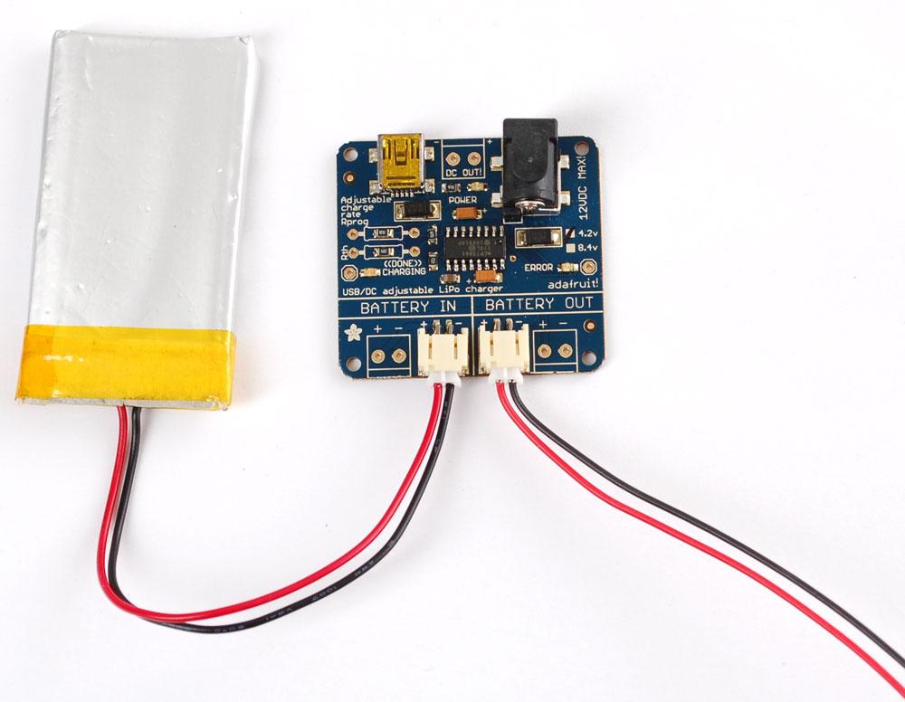 usb dc lithium polymer battery charger 5 12v raspberry. Black Bedroom Furniture Sets. Home Design Ideas