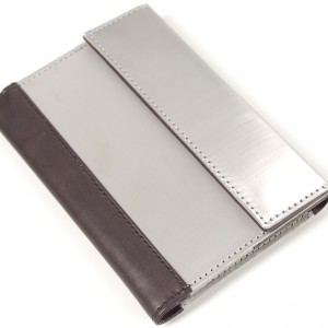 Stainless Steel RFID Blocking Passport Wallet