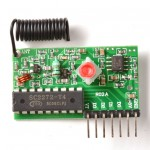 Simple RF T4 Receiver - 315MHz Toggle Type
