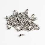 Button Hex Machine Screw - M4 thread - 10mm long - pack of 50
