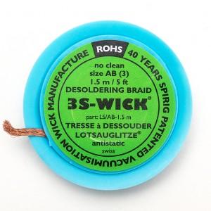 Solder wick - 3S 5ft.