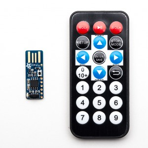 Adafruit IRKey with Remote - IR Remote to Keyboard