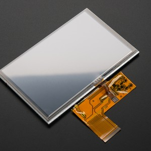 """5.0"""" 40-pin TFT Display - 800x480 with Touchscreen"""