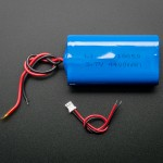 Lithium Ion Battery Pack - 3.7V 4400mAh