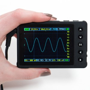 DSO Nano v3 - Pocket-size color digital oscilloscope - v3.0