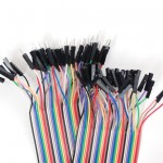 "Premium Female/Male 'Extension' Jumper Wires - 40 x 3"" (75mm)"
