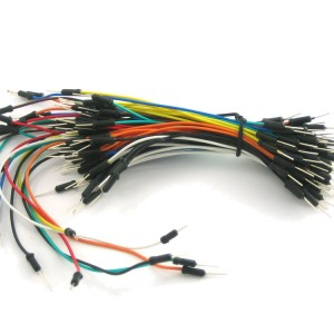 Breadboarding wire bundle
