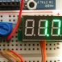 Mini 3-wire Volt Meter (0 - 99.9VDC)