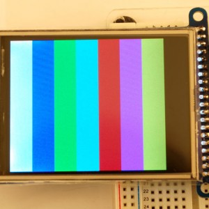 "2.8"" 18-bit color TFT LCD with touchscreen breakout board - ILI9325"