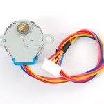Small Reduction Stepper Motor - 12VDC 48-Step 1/16 Gearing