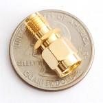 SMA Jack to RP-SMA Plug RF Adapter