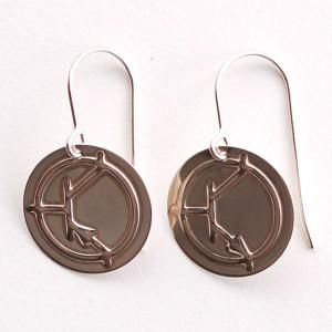 Silver Bipolar Earrings - NPN / PNP