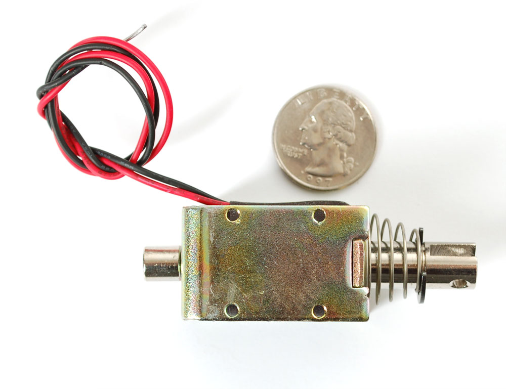 how to make a push pull solenoid