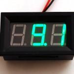 Panel Volt Meter - 4.5V to 30VDC