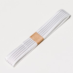 Conductive thread ribbon cable - White - 1 yard