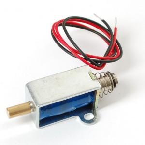 Small push-pull solenoid