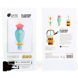 Bare Flashing Card Set - Celebration Circuit