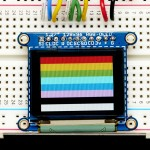 "OLED Breakout Board - 16-bit Color 1.27"" w/microSD holder"