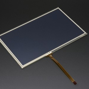 "Resistive Touchscreen Overlay - 7"" diag. 165mm x 105mm - 4 Wire"