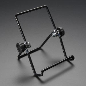 "Adjustable Bent-Wire Stand - up to 7"" Tablets and Small Screens"