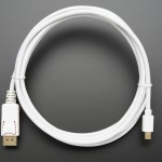 Mini DisplayPort to DisplayPort Cable - 10 ft/3 meters - White