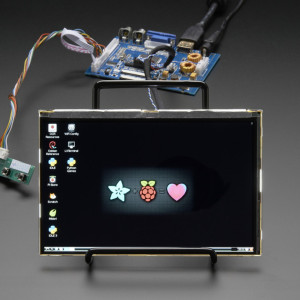 "HDMI_4_Pi:_7""_Display_&_Audio_1280x800_IPS_HDMI/VGA/NTSC/PAL"