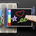 "2.8""_TFT_LCD_with_Touchscreen_Breakout_Board_w/MicroSD_Socket"