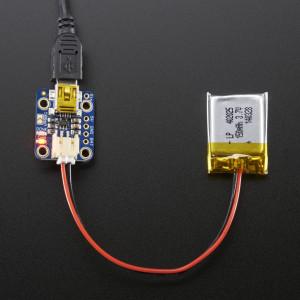 Adafruit_Mini_Lipo_w/Mini-B_USB_Jack-USB_LiIon/LiPoly_charger