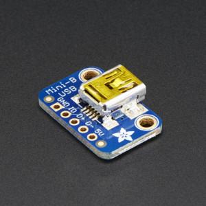 USB_Mini-B_Breakout_Board