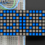 "16x8 1.2""_LED_Matrix+Backpack-Ultra_Bright_Square_Blue_LEDs"