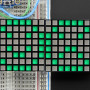 "16x8_1.2""_LED_Matrix+Backpack-Ultra_Bright_Square_Green_LEDs"