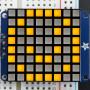 "Small_1.2""_8x8_Ultra_Bright_Square_Yellow_LED_Matrix+Backpack"