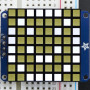 "Small_1.2""_8x8_Ultra_Bright_Square_White_LED_Matrix+Backpack"