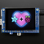 "PiTFT_Mini_Kit-320x240_2.8""_TFT+Capacitive_Touchscreen"