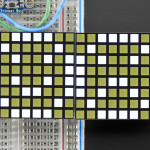 "16x8_1.2""_LED_Matrix+Backpack-Ultra_Bright_Square_White_LEDs"