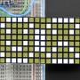 """16x8_1.2""""_LED_Matrix+Backpack-Ultra_Bright_Square_White_LEDs"""