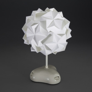 AKARI Origami LED Lamp Shade Kit from Gakken