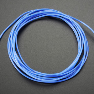 Silicone_Cover_Stranded-Core_Wire-2m_26AWG_Blue