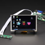 "HDMI_4_Pi:_5""_Display_(w/Touch)_800x480-HDMI/VGA/NTSC/PAL"