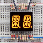 "Dual_Alphanumeric_Display -Yellow_0.54""_Digit_Height-Pack_of_2"