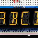 "Quad_Alphanumeric_Display-Yellow_0.54""_Digits_w/I2C_Backpack"